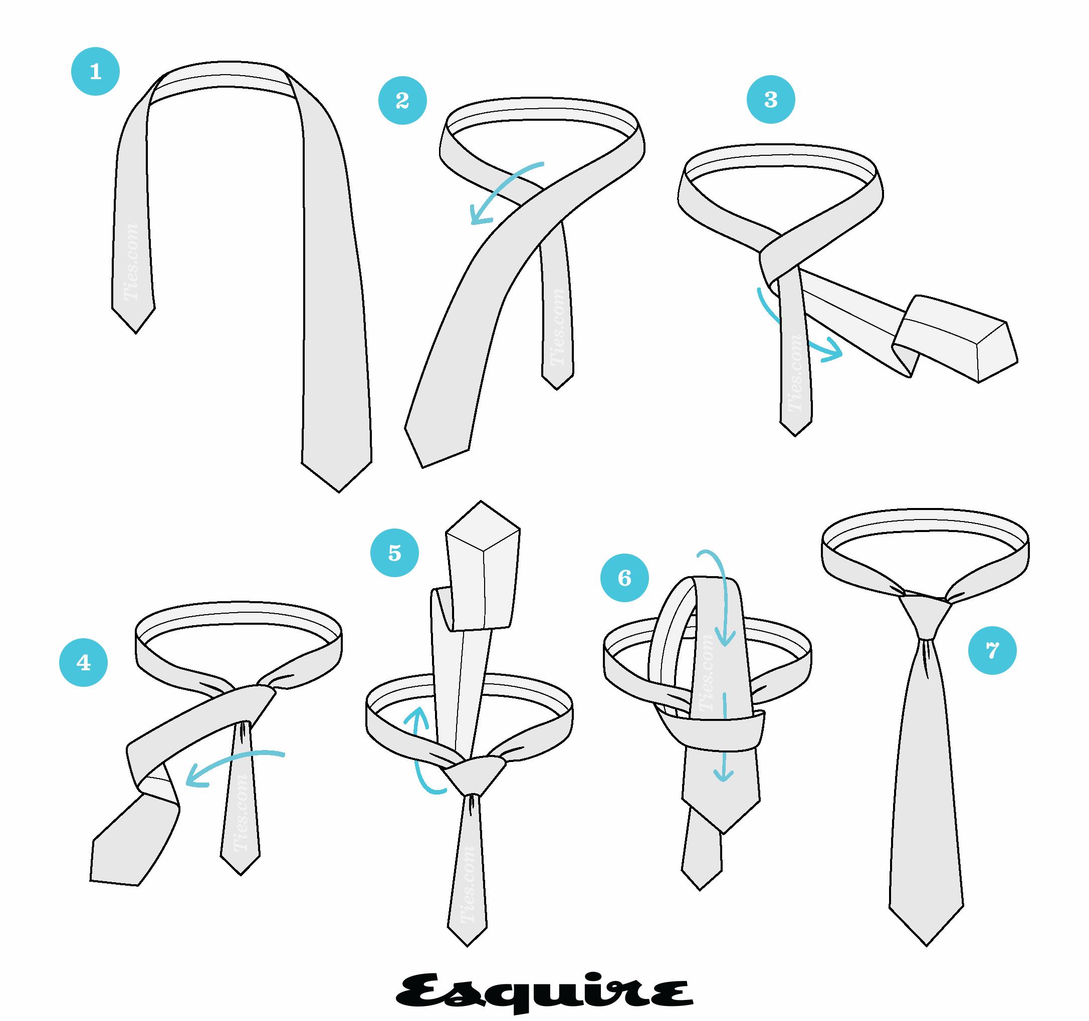 Enséñale a tu chico cómo hacer Nudos de Corbata para Toda Ocasión