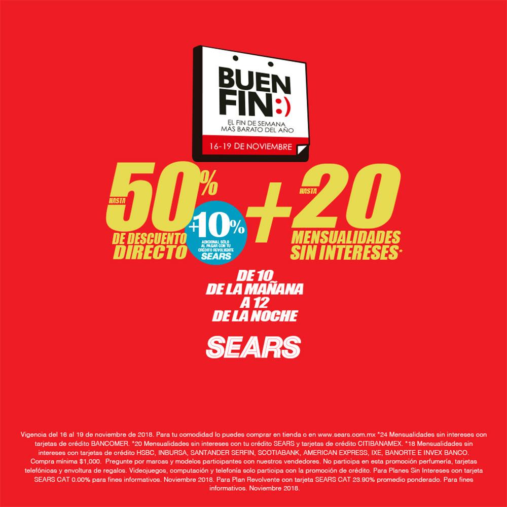 Ofertas Buen Fin Sears