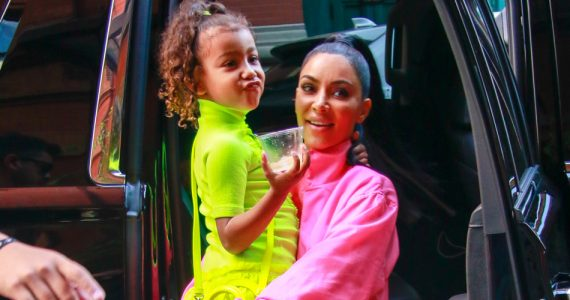 kim kardashian edito north west