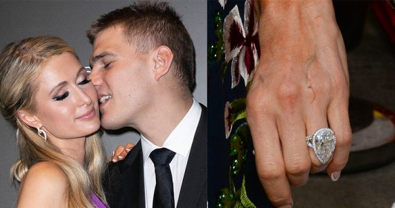 paris hilton chris zylka anillo