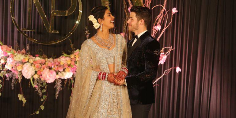 la historia detrás de los vestidos de novia de priyanka chopra