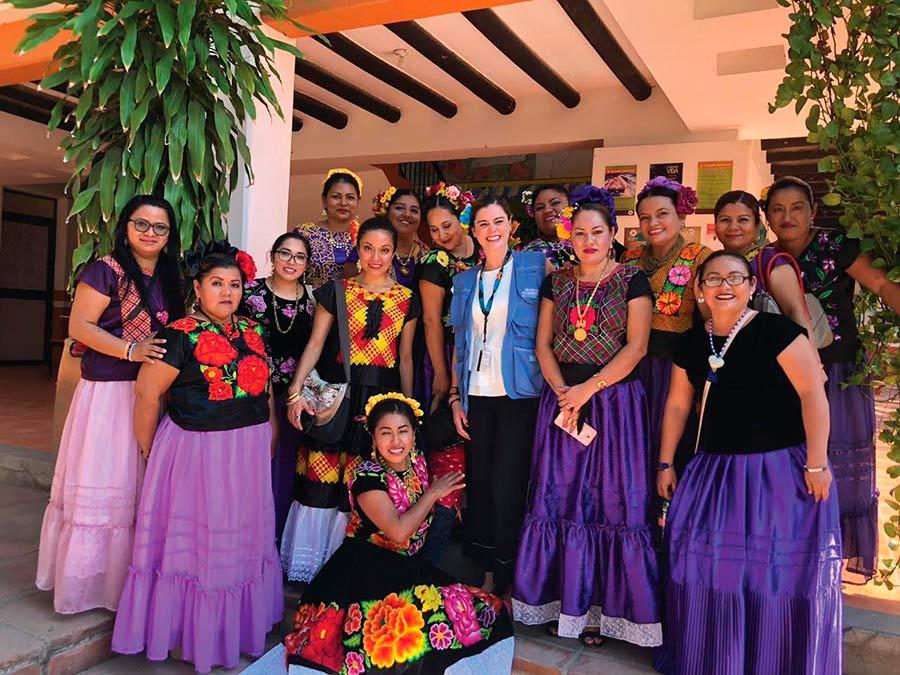 Foto: @OnuMujeres ONU Mujeres México/Lourdes Colinas