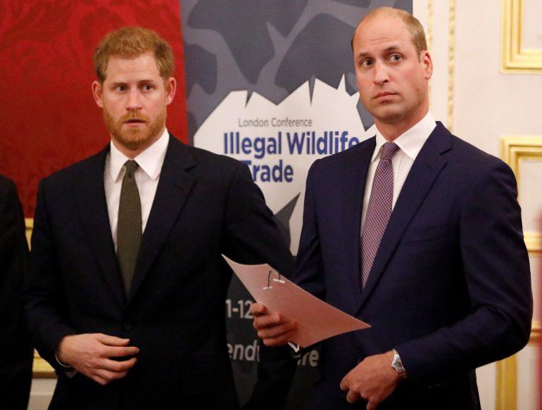 príncipe harry príncipe william relación hermanos