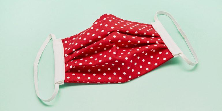 cómo lavar tapabocas de tela