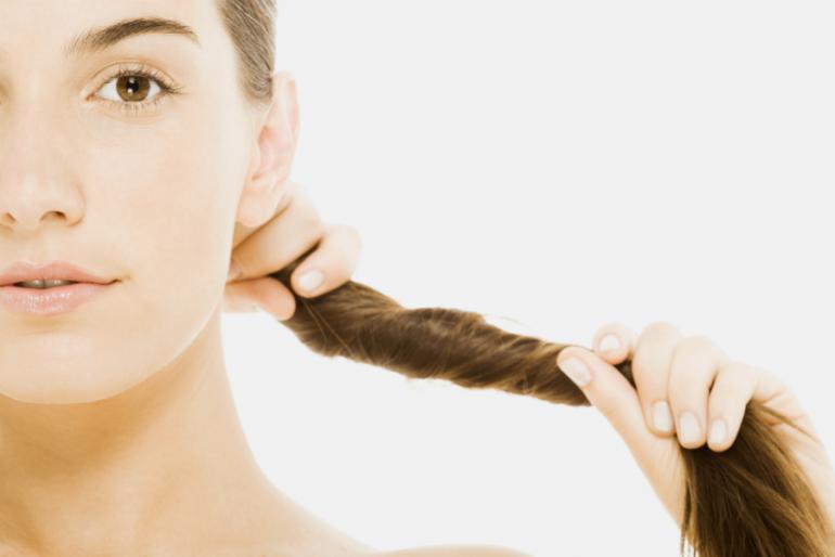 Pantene mujer cabello largo