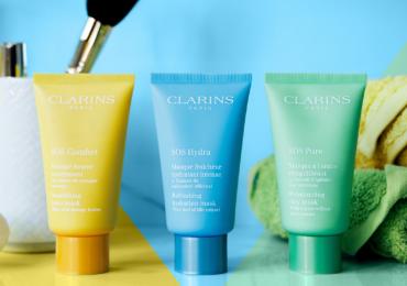 Clarins masks