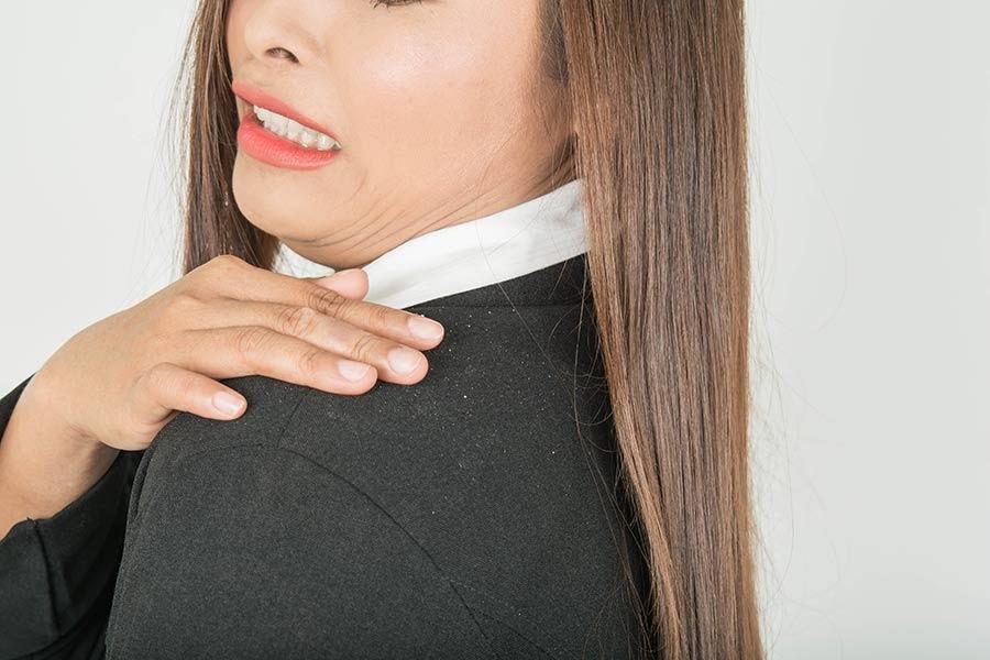 caspa podría ser consecuencia del estrés