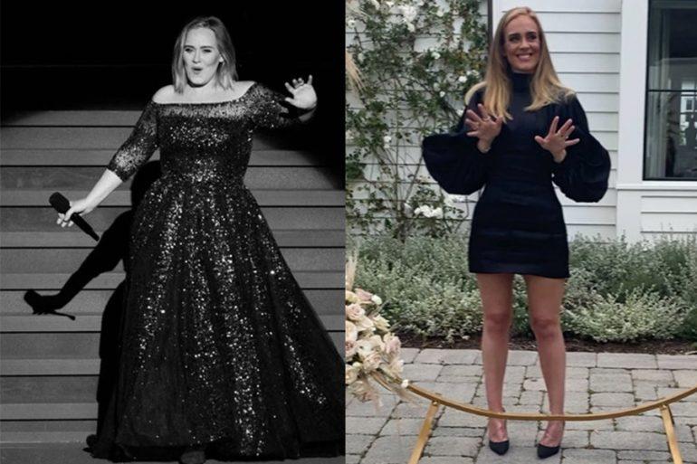 La dieta y los ejercicios de Adele