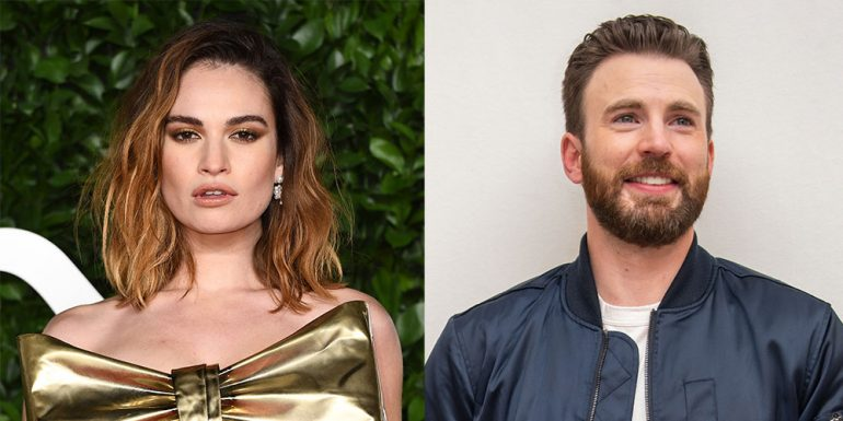 lily-james-chris-evans