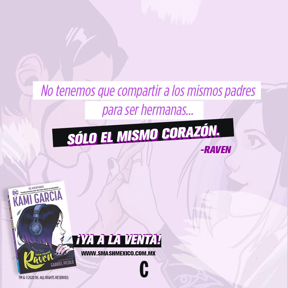 Raven Kami Garcia comic