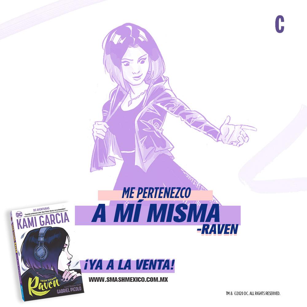 Comic Raven Cami Garcia
