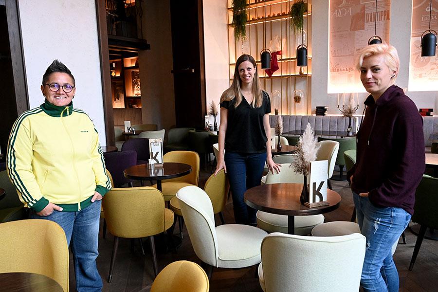 Fanica Feric, Ivana Marinic y Marita Radovanovic