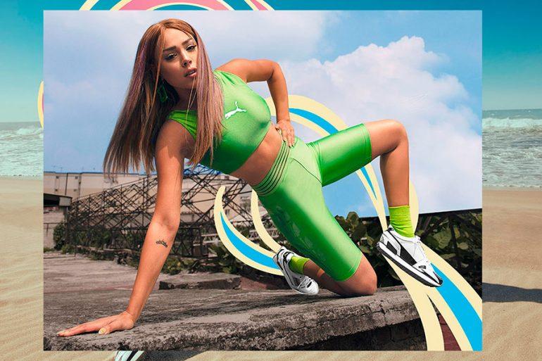 Mile Rider de PUMA: un toque retro protagonizado por Danna Paola