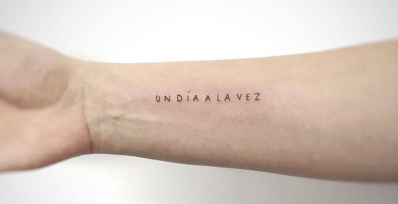 Tatuajes minimalistas para mujeres