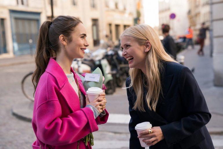 Trío en Emily in Paris