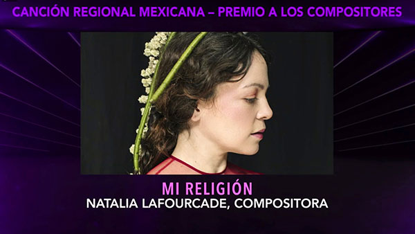 Los premios Grammy Latino celebran el México de Natalia Lafourcade