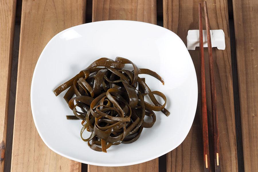 Alga espaguetti de mar