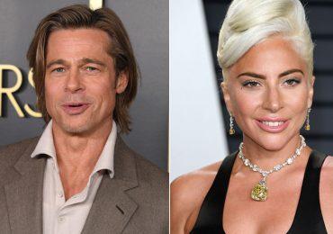 ¡Lady Gaga se une a Brad Pitt para un thriller!