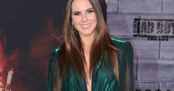 Kate Del Castillo asegura nunca estuvo enamorada de Aarón Díaz