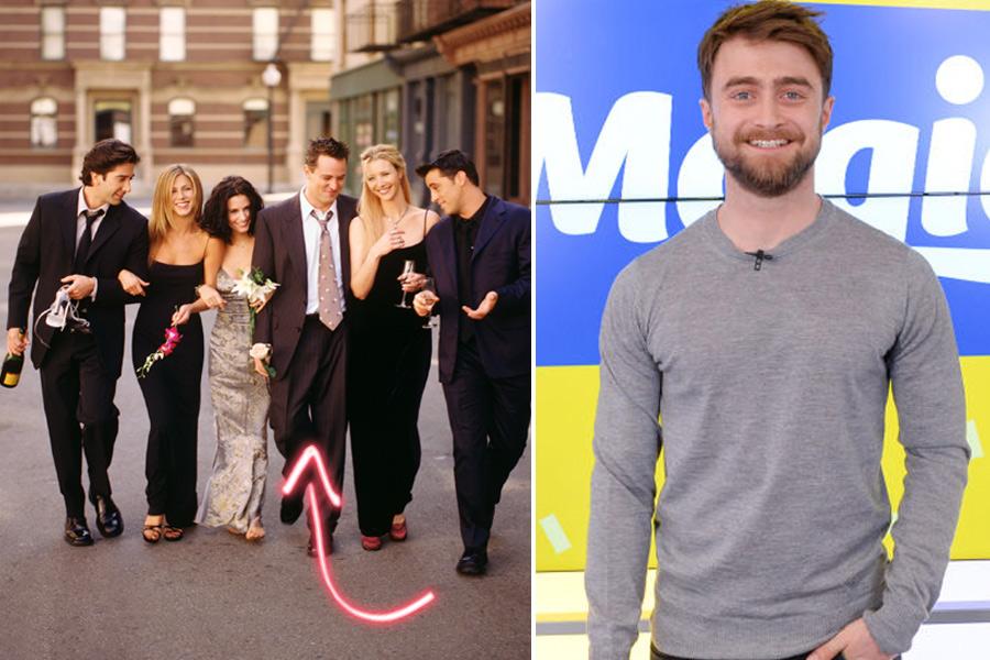 Daniel Radcliffe friends 2020 remake serie