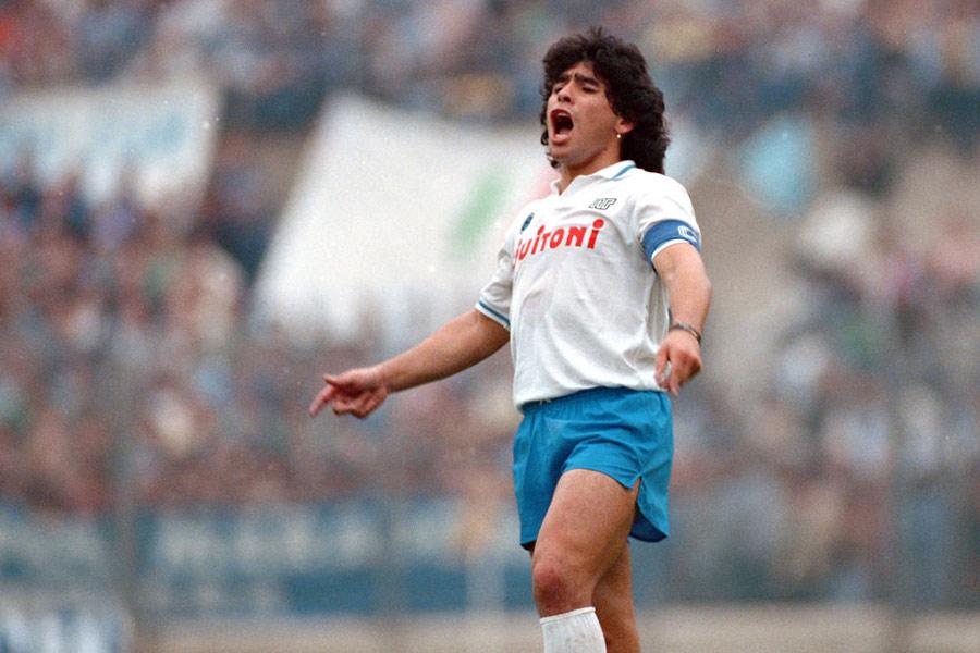 Maradona en su juventud, el sueño de miles