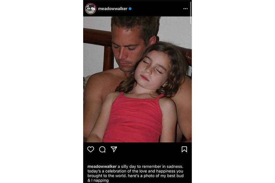Paul Walker: siete años de su muerte y así lo recuerda su hija