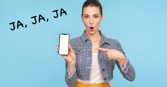 Ríete correctamente por escrito: con 'ja' y no con 'ha', según la RAE