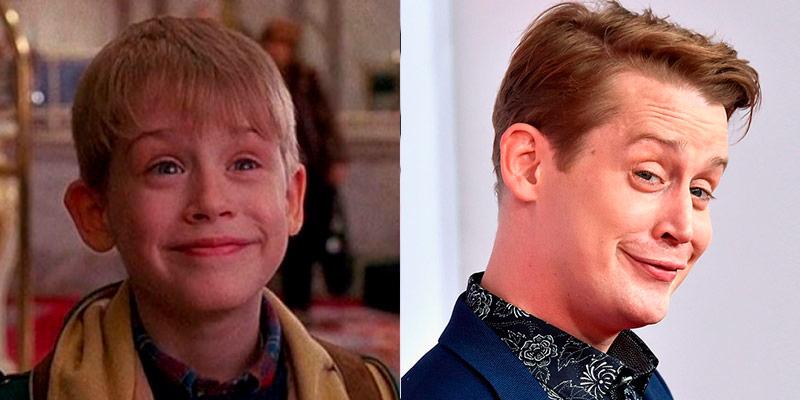 Macaulay Culkin mi pobre angelito antes y después