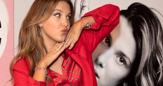 Cómoda y con estilo, Millie Bobby Brown en la pijama de animal print que necesitamos