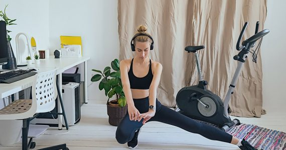 Basics para armar un gym en casa y lograr tu dream body durante la cuarentena