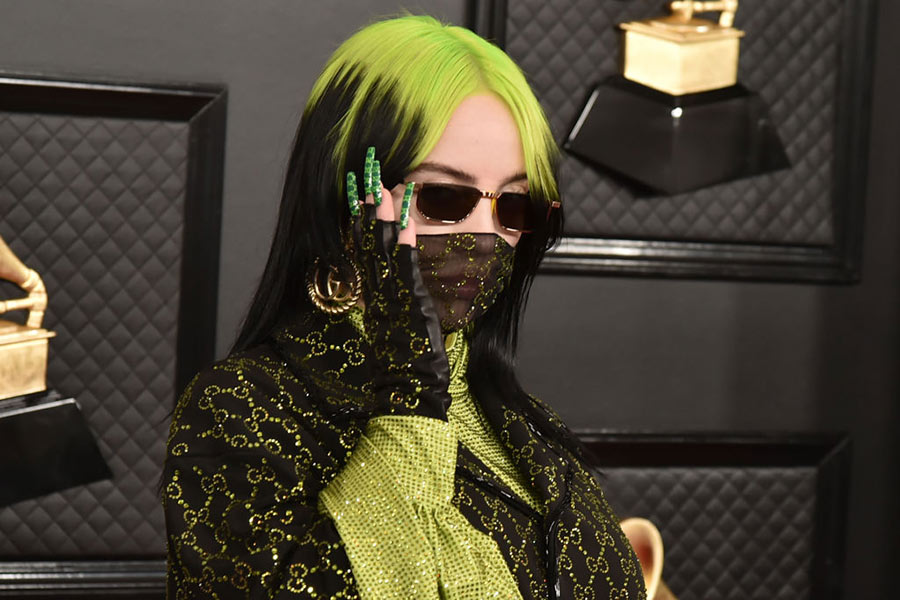 Billie Eilish fashion moments 2020