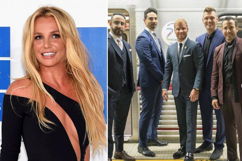 El sueño de todos: ¡Britney Spears y Backstreet Boys en una canción juntos!