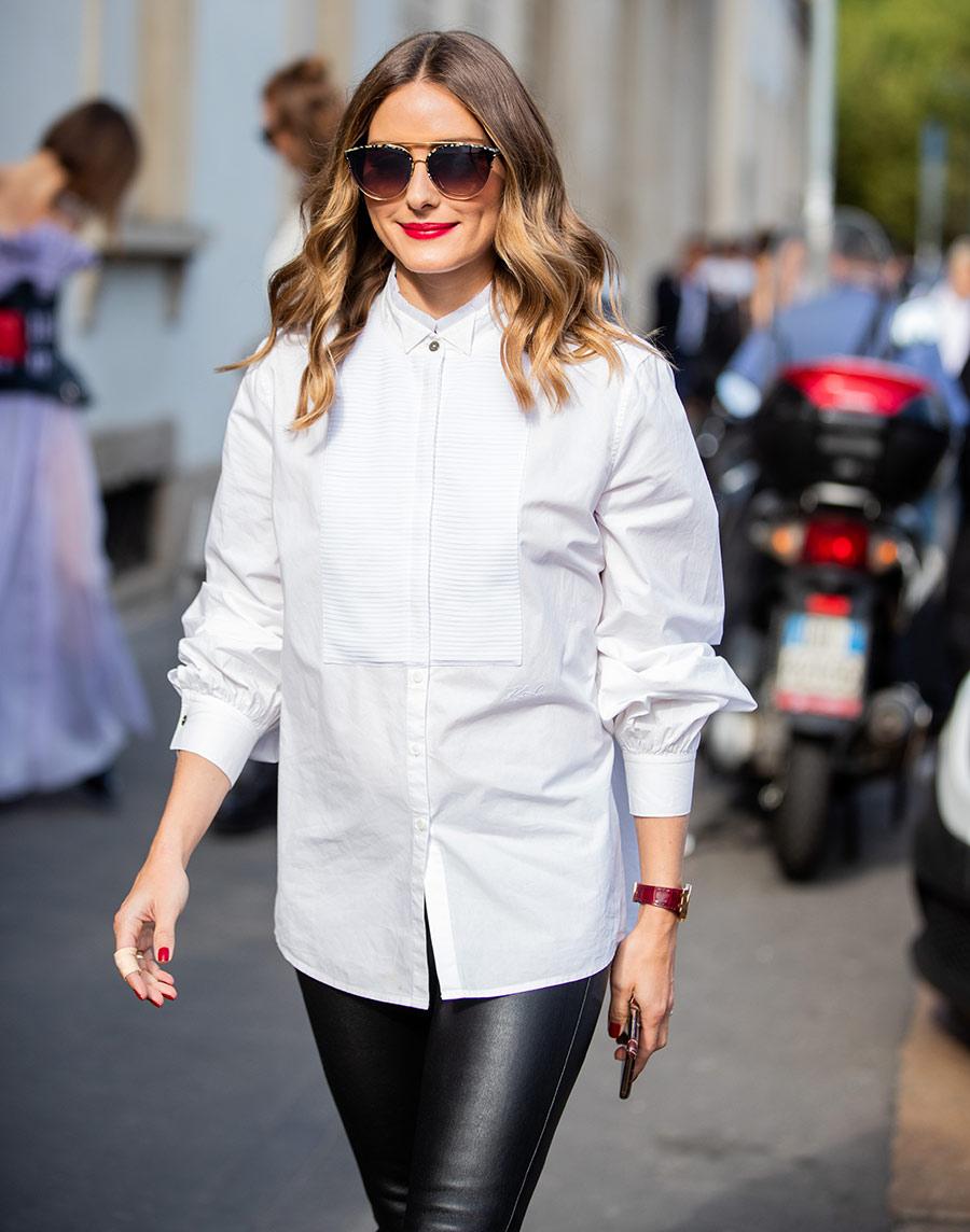 olivia palermo moda camisa oversized
