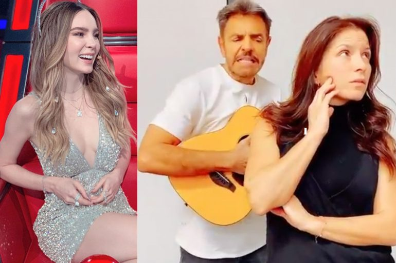 """Los Derbez critican a Belinda por """"marcar como reses a sus hombres"""""""