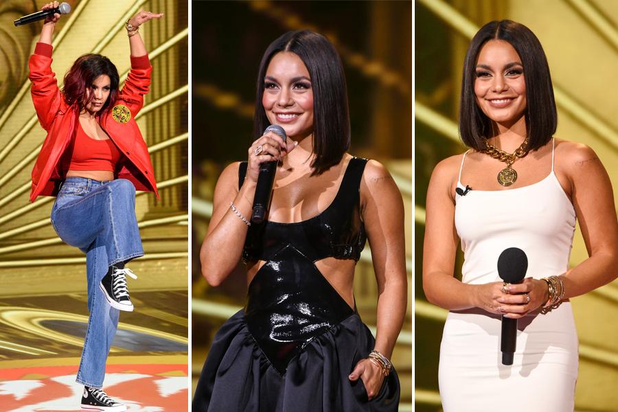 Vanessa Hudgens looks MTV Movie and TV Awards