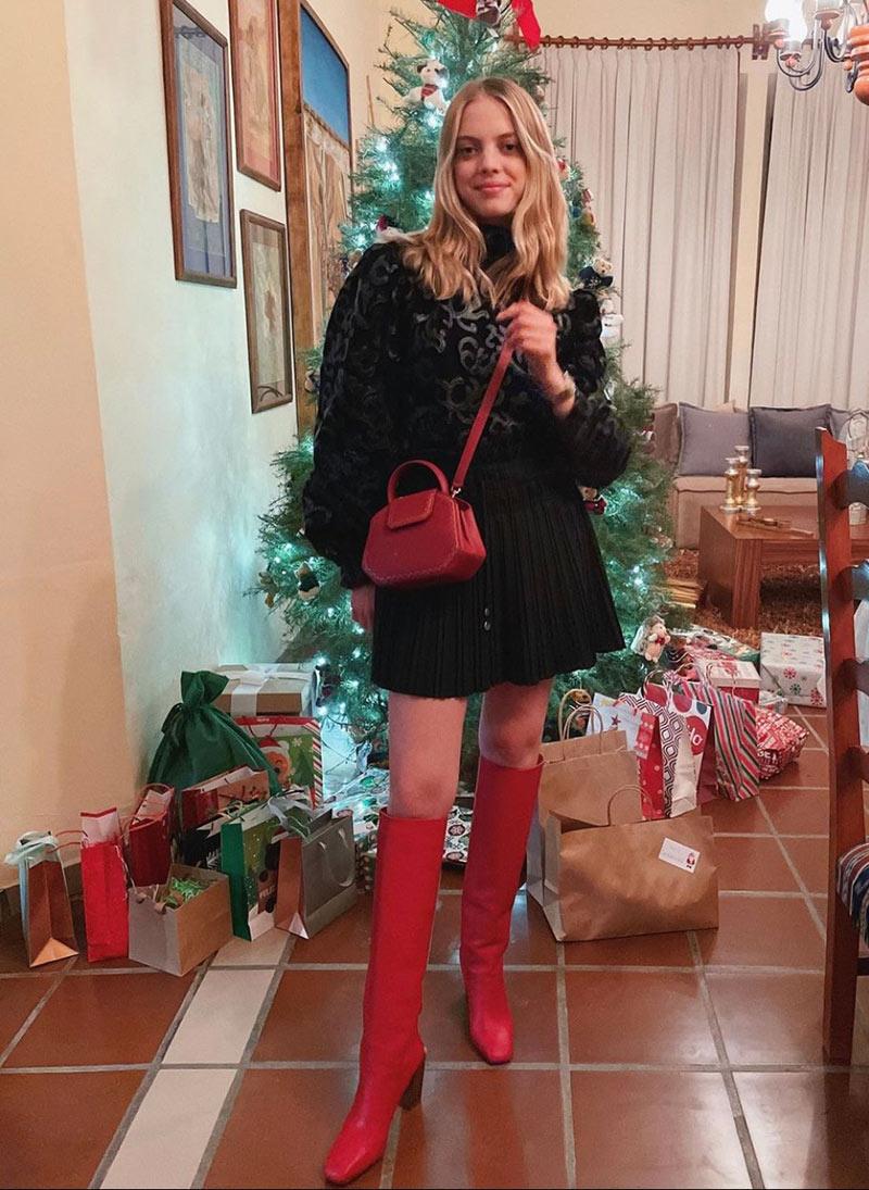 Los looks de las celebs llevaron en Navidad (que puedes llevar a una fiesta)