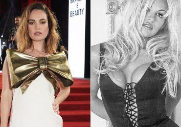 Lily James se convertirá en Pamela Anderson para una serie