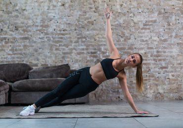 4 planchas buenísimas para tonificar piernas, brazos y abdomen en un solo movimiento