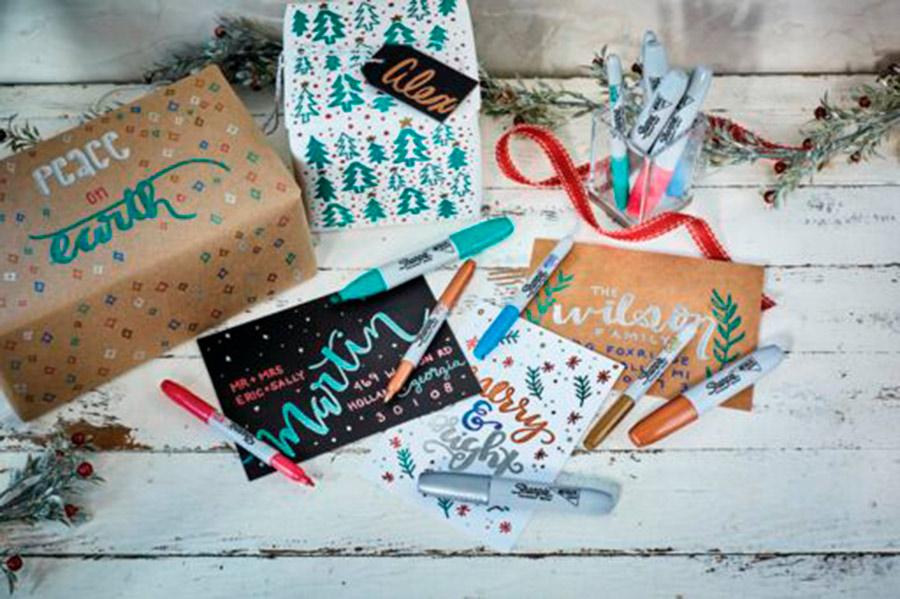 plumones regalos de Navidad