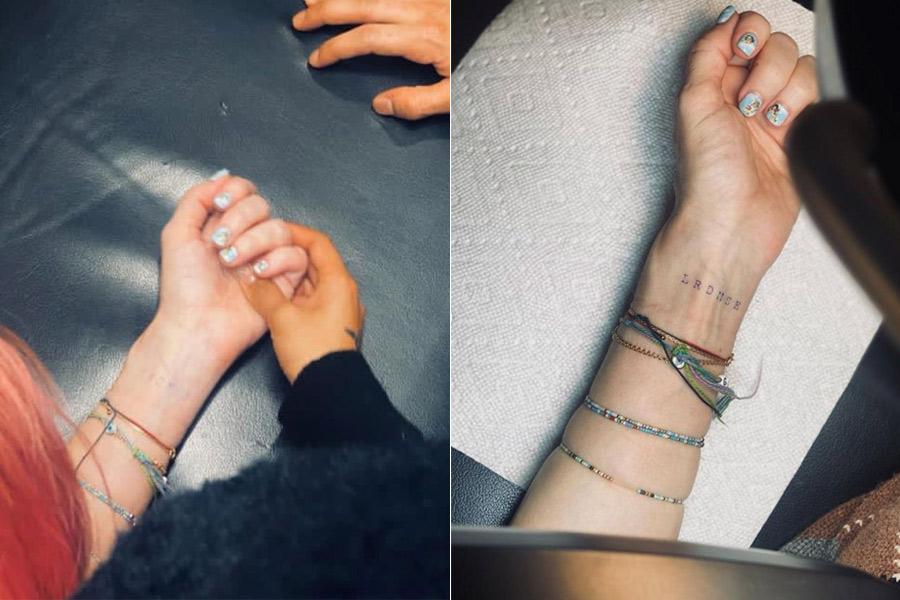 Madonna primer tatuaje