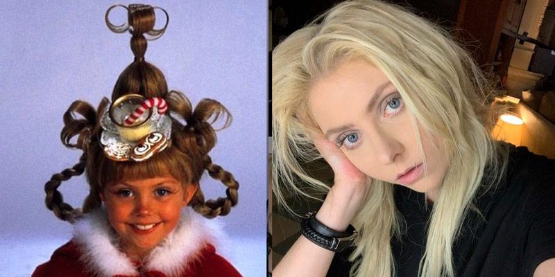 actores películas navidad antes y después