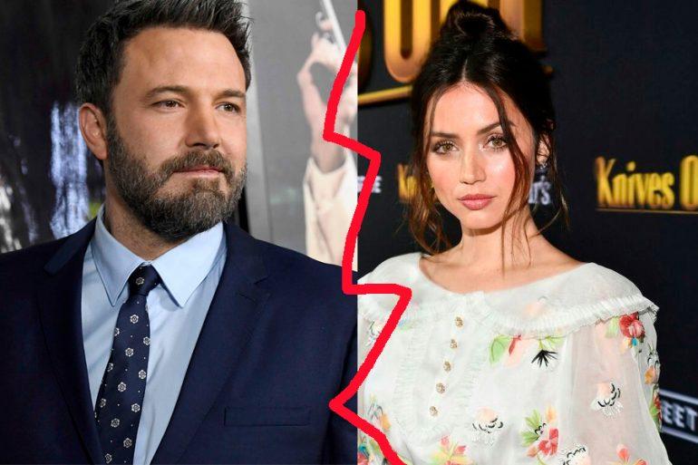 Ben Affleck y Ana de Armas terminaron su relación
