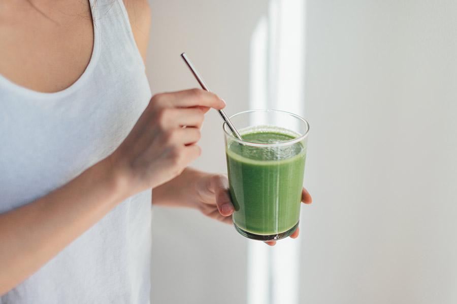 Jugo verde: Recetas para bajar de peso