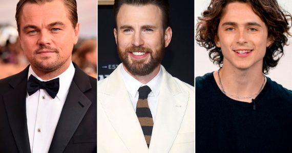 ¡Un sueño hecho realidad! Leonardo DiCaprio, Chris Evans y Timothée Chalamet juntos en una película