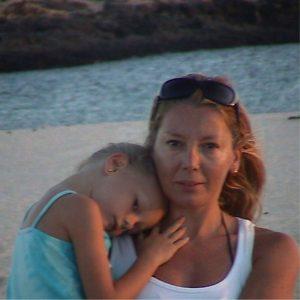 Ester Expósito y su mamá