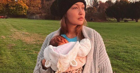 Desde noviembre, Gigi Hadid había revelado el nombre de su bebé y nadie lo había notado