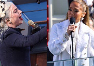 Las conmovedoras actuaciones de Lady Gaga y JLo en la investidura de Joe Biden