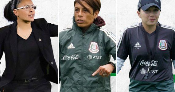 Girl Power! 💪 Tres mujeres llegan a dirigir las selecciones femeniles de futbol