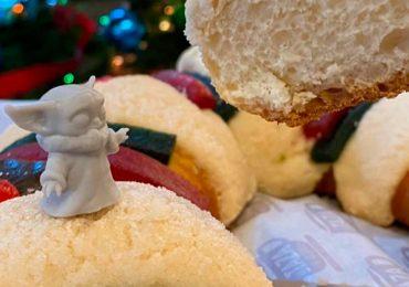 Rosca de Reyes Baby Yoda