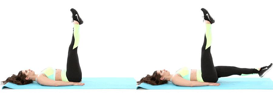 tijeras ejercicios para abs